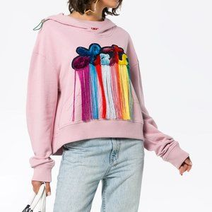 Mira Mikati Always Late Hooded Sweatshirt Women 4